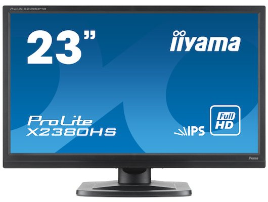"""ЖК-монитор 23"""" Iiyama PL2380H /X2380HS-B1/"""