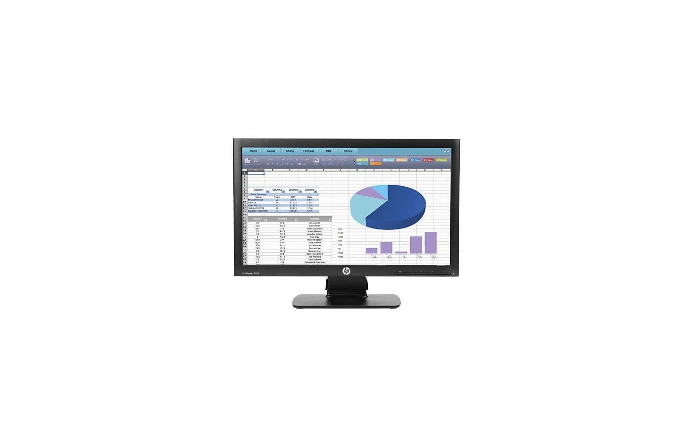 "ЖК-монитор 22"" HP ProDisplay P202 /K7X27AA/"
