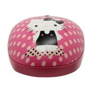 Фото Мышь проводная Genius NetScroll 310 Hello Kitty розовый/рисунок оптическая (800dpi) USB для ноутбука (2but)