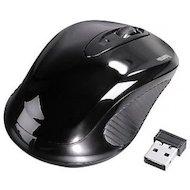 Мышь беспроводная Hama AM-7300 черный оптическая (1000dpi) беспроводная USB для ноутбука (2but)