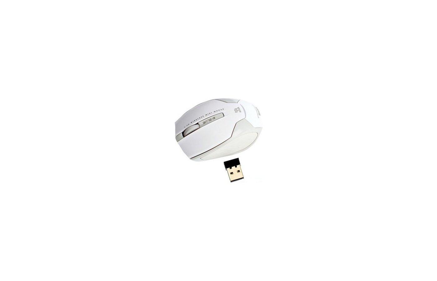 Мышь беспроводная E-Blue Arco Mini USB white