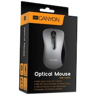 Фото Мышь проводная CANYON CNE-CMS3 USB Silver