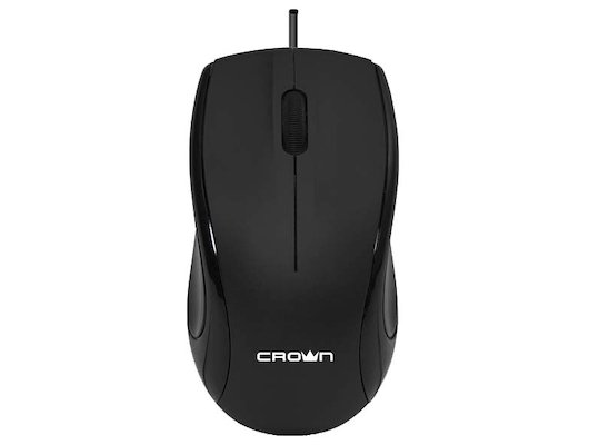 Мышь проводная CROWN CMM-31 (Black)