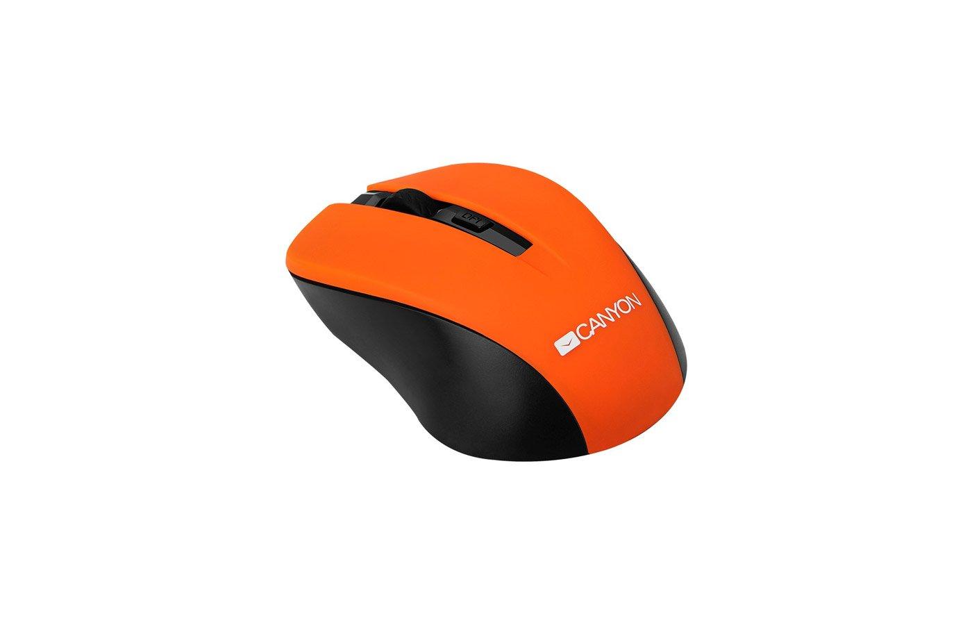 Мышь беспроводная CANYON CNE-CMSW1 Orange