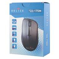 Фото Мышь проводная Oklick 175M черный оптическая (1000dpi) USB (2but)