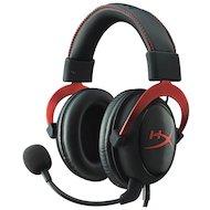 Игровые наушники проводные Kingston HyperX Cloud II Headset Red