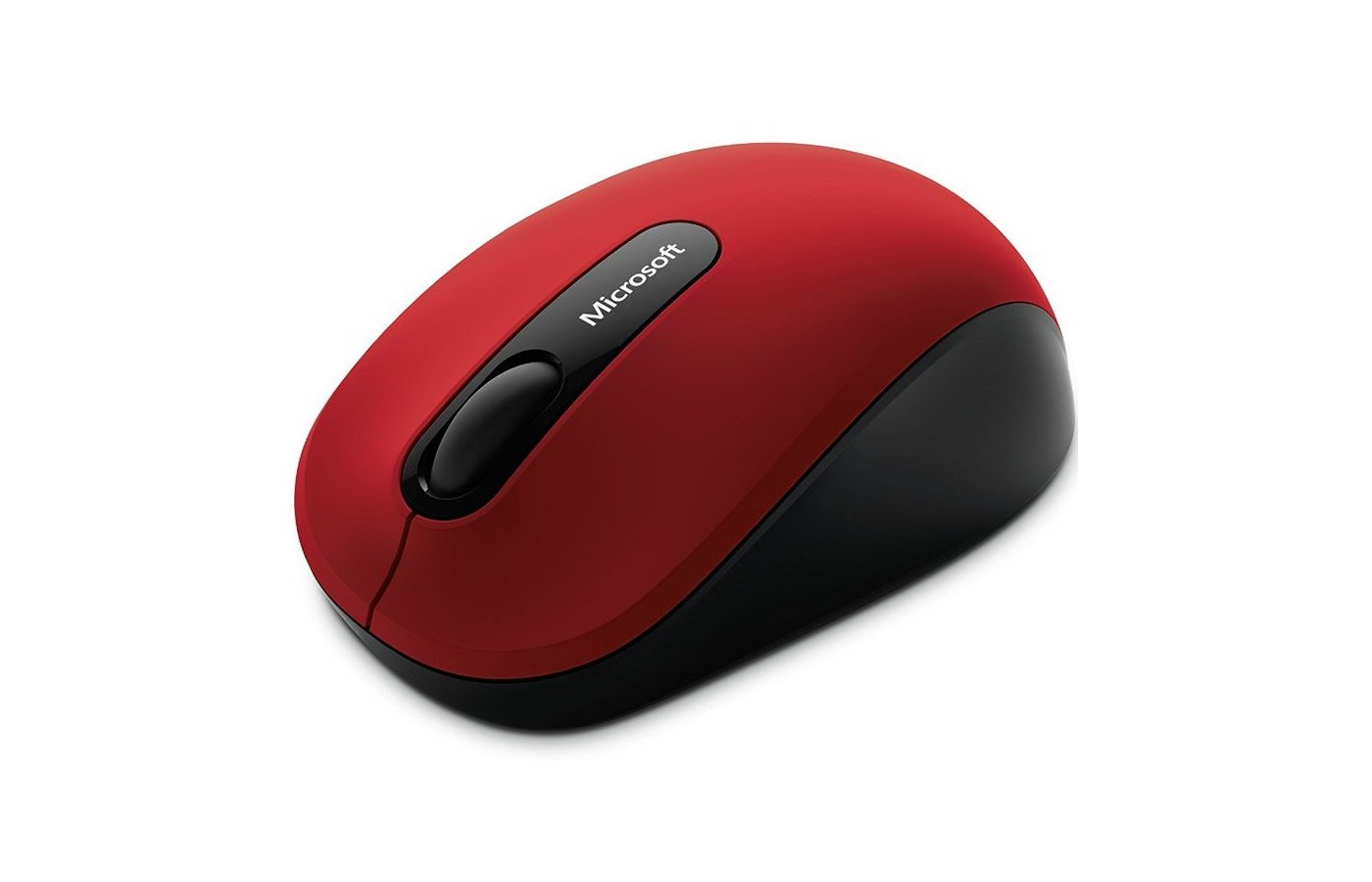 Мышь беспроводная Microsoft Mobile 3600 красный/черный оптическая (1000dpi) беспроводная BT (2but)