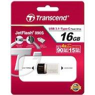 Фото Флеш-диск USB 3.1 Transcend JetFlash 16GB 890 OTG (TS16GJF890S)