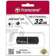 Фото Флеш-диск USB 2.0 Transcend JetFlash 32GB 320 (TS32GJF320K)