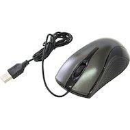Фото Мышь проводная Oklick 215M черный/серый оптическая (800dpi) USB (2but)