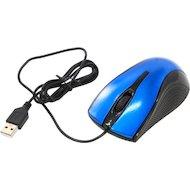 Фото Мышь проводная Oklick 215M черный/синий оптическая (800dpi) USB (2but)