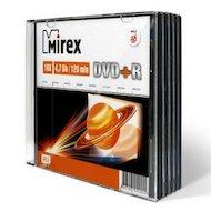 DVD-диск DVD+R Mirex 4.7 Гб 16x Slim case (UL130013A1F)