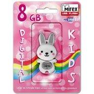 Фото Флеш-диск USB 2.0 Mirex RABBIT 8GB GREY (13600-KIDRBG08)