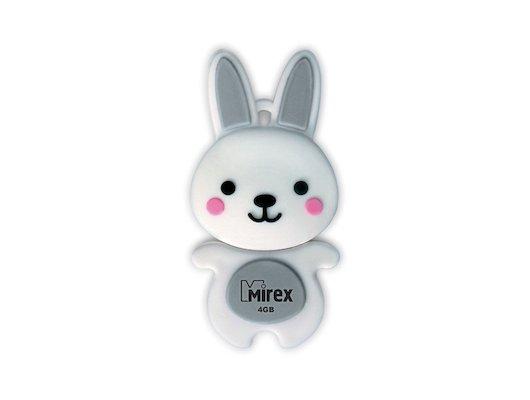 Флеш-диск USB 2.0 Mirex RABBIT 8GB GREY (13600-KIDRBG08)