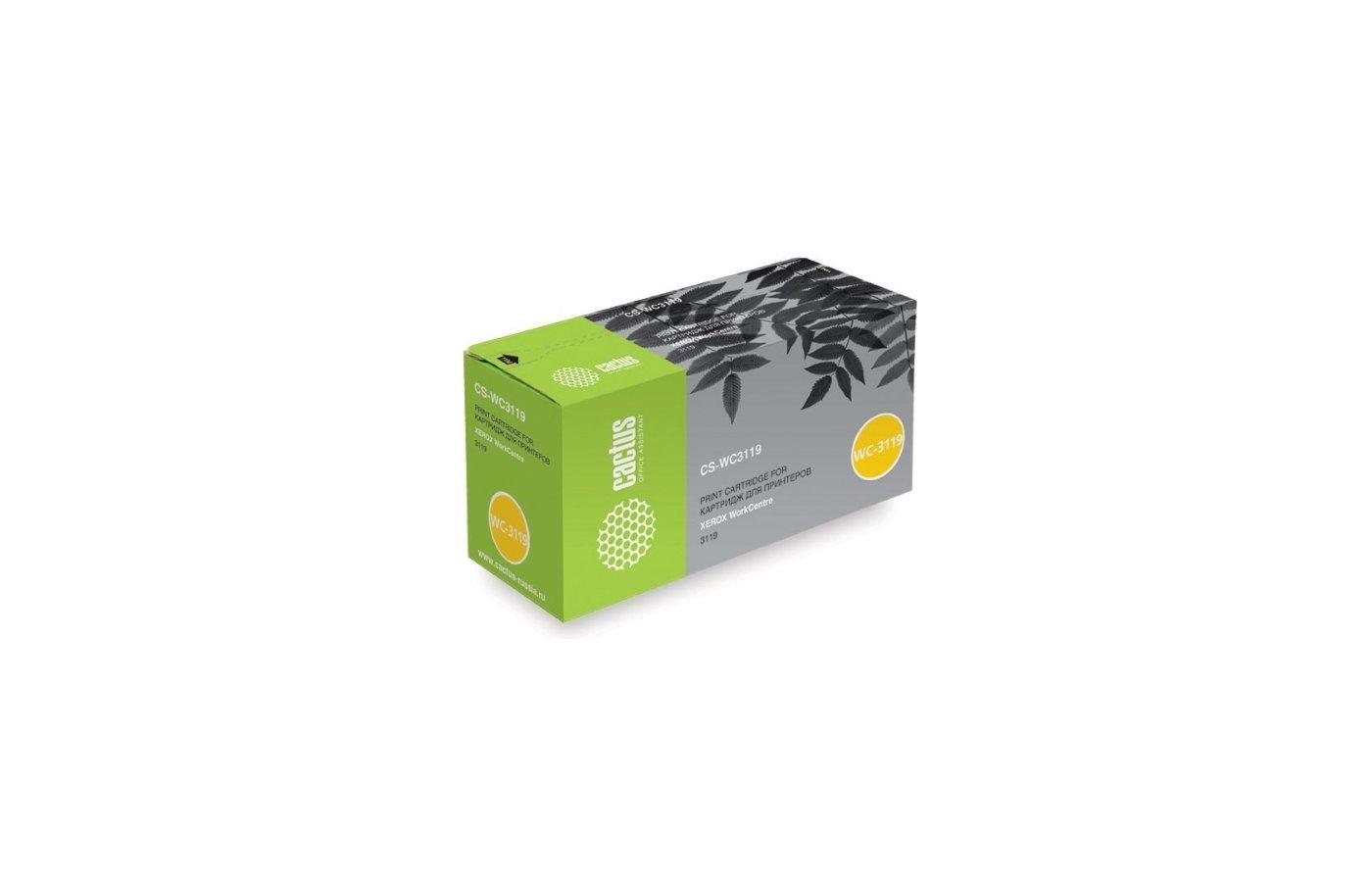 Картридж лазерный Тонер-картридж XEROX WC 3119 3000 стр (013R00625)