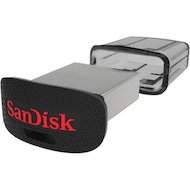 Флеш-диск USB3.0 Sandisk 16Gb Ultra Fit SDCZ43-016G-GAM46 черный