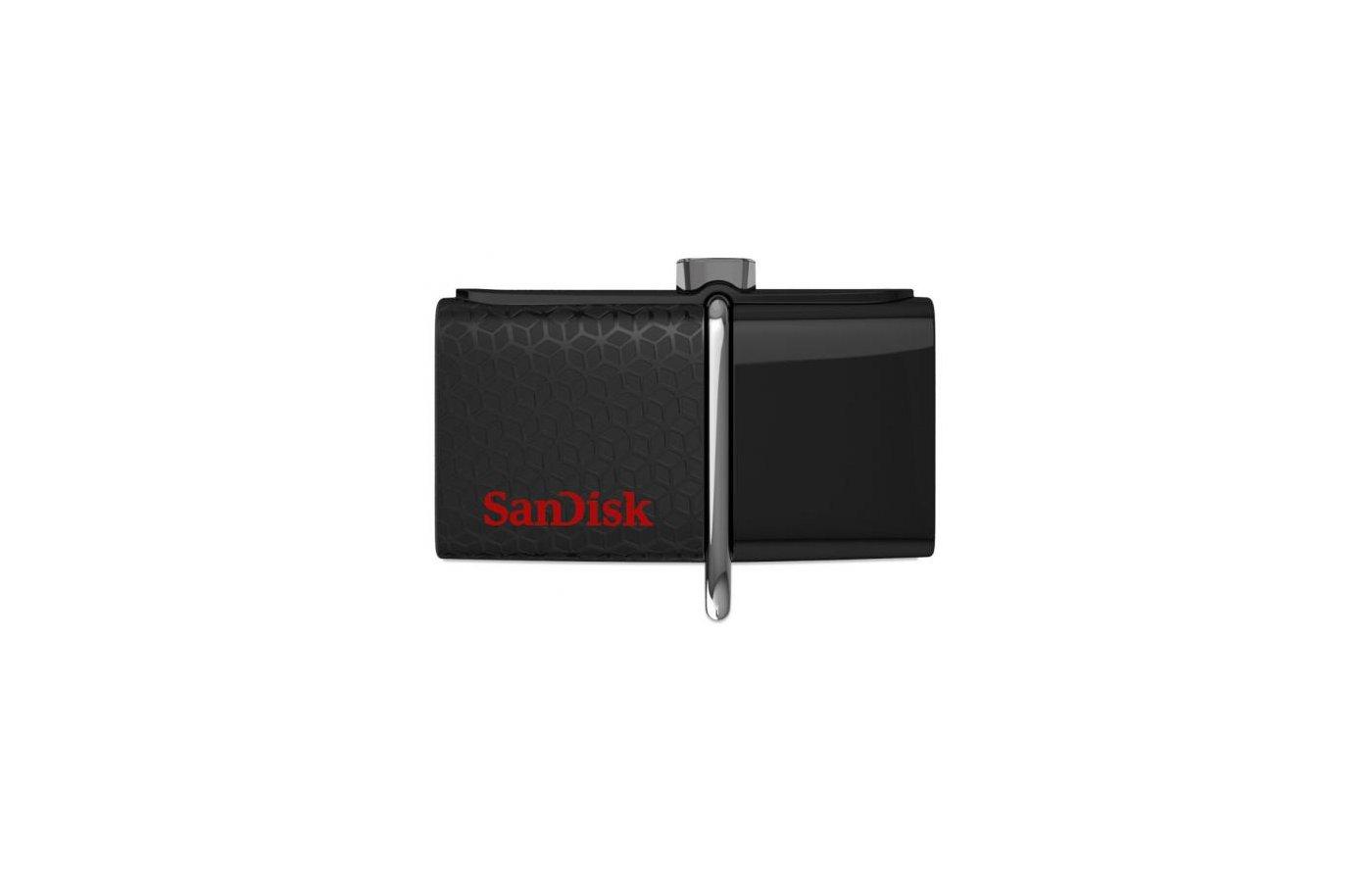 Флеш-диск USB3.0 Sandisk 32Gb Ultra Dual SDDD2-032G-GAM46 черный