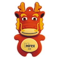 Флеш-диск USB 2.0 Mirex DRAGON 8GB RED (13600-KIDDAR08)