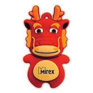 Фото Флеш-диск USB 2.0 Mirex DRAGON 8GB RED (13600-KIDDAR08)
