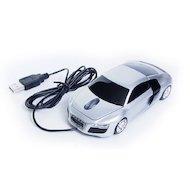 Фото Мышь проводная QumoQ-DRIVE Audi R8 Silver USB