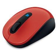 Фото Мышь беспроводная Microsoft Sculpt Mobile (43U-00026) red