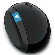 Фото Мышь беспроводная Microsoft Sculpt ERGO черный оптическая (1000dpi) беспроводная USB (3but)