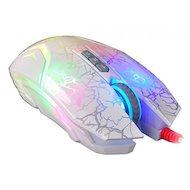 Фото Мышь проводная A4Tech Bloody N50 Neon белый оптическая (4000dpi) USB2.0 игровая (7but)