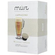 Фото капсулы для кофеварок MUST DG Cappucino 16 капсул