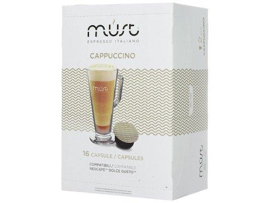 капсулы для кофеварок MUST DG Cappucino 16 капсул