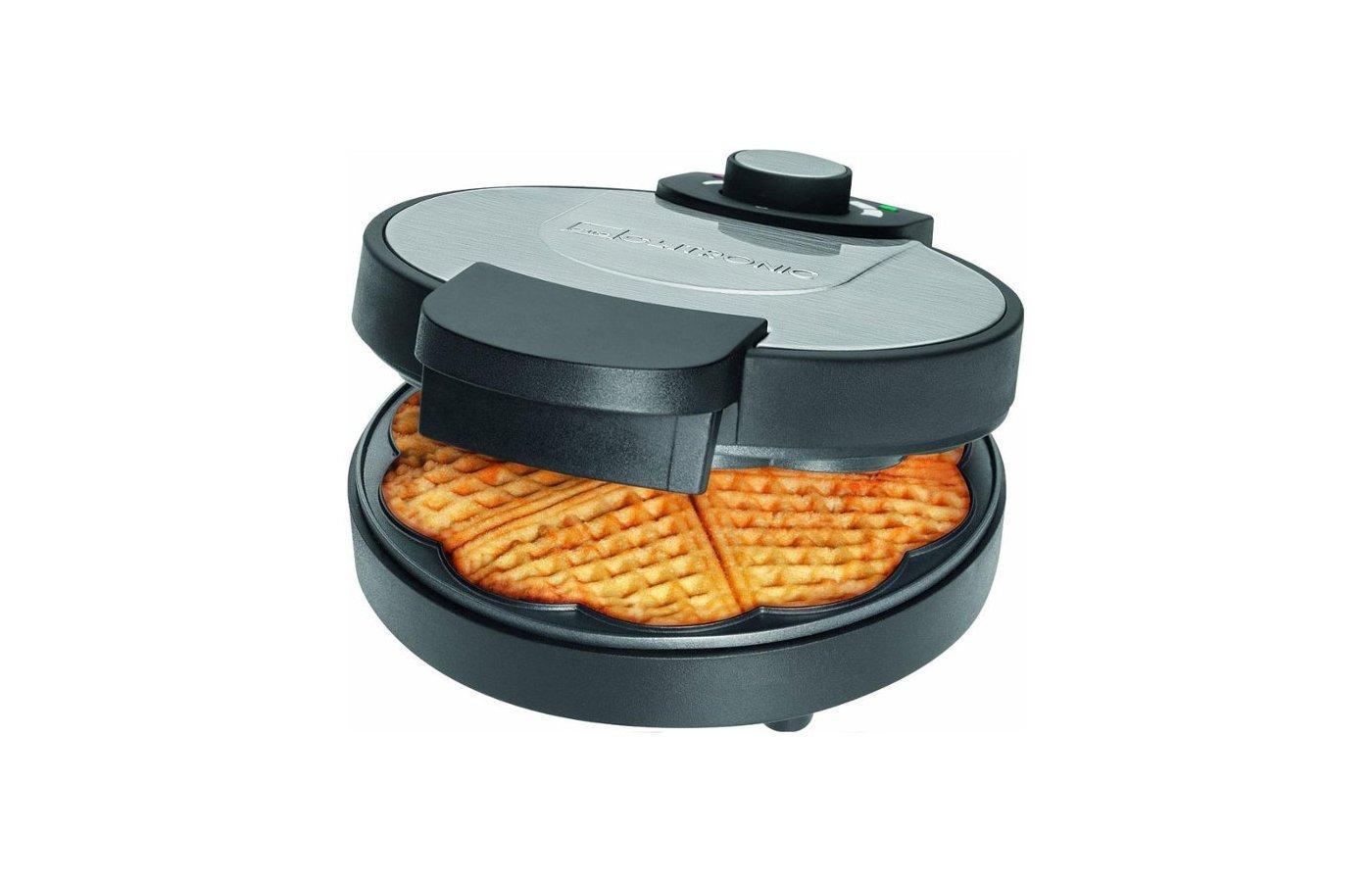 Бутербродница CLATRONIC WA 3492 schwarz inox