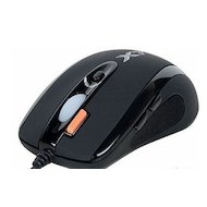 Фото Мышь проводная A4Tech XL-750BK черный лазерная (3600dpi) USB2.0 игровая (6but)