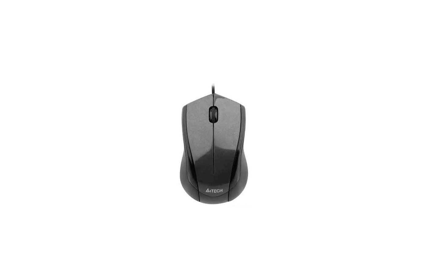 Мышь проводная A4Tech V-Track Padless N-400-1 серый оптическая (1000dpi) USB (2but)