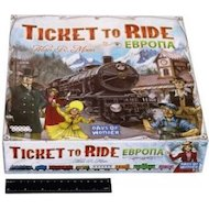 Фото Настольная игра Hobby World 1032 Ticket to Ride Европа (3-е рус. изд.)