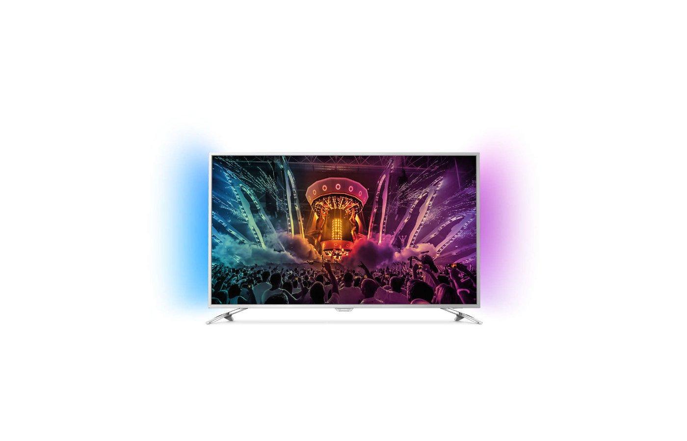 4K (Ultra HD) телевизор PHILIPS 49PUS 6501/60