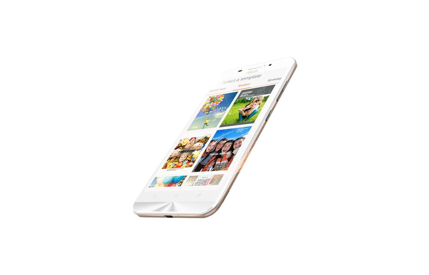 Смартфон ASUS ZC550KL ZenFone Max 32Gb белый