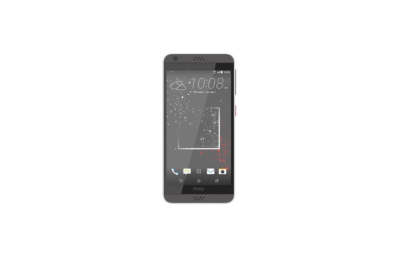 Смартфон HTC Desire 530 EEA Stratus White