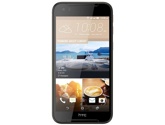 Смартфон HTC Desire 830 DS EEA Black Gold