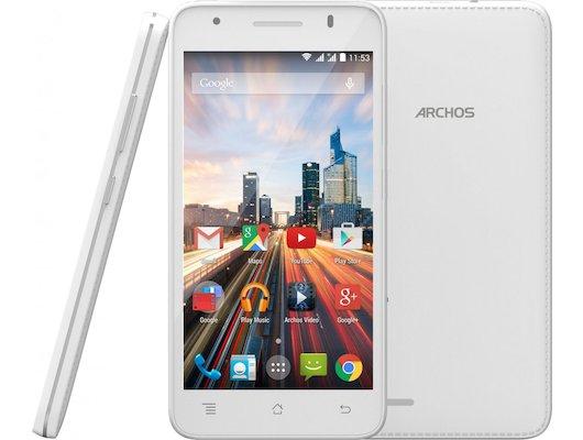 Смартфон Archos 50 Helium+ 4G White