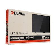Фото LED телевизор DOFFLER 43CF 37-T2