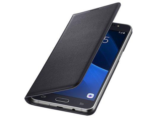 Чехол Samsung FlipWallet для Galaxy J5 (2016) черный (EF-WJ510PBEGRU)