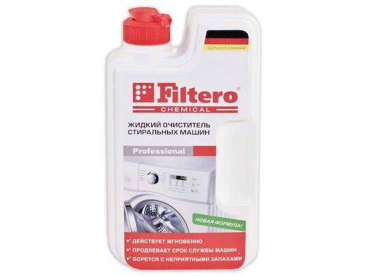 Средства для стирки и от накипи FILTERO 902 очиститель для с/м 250мл