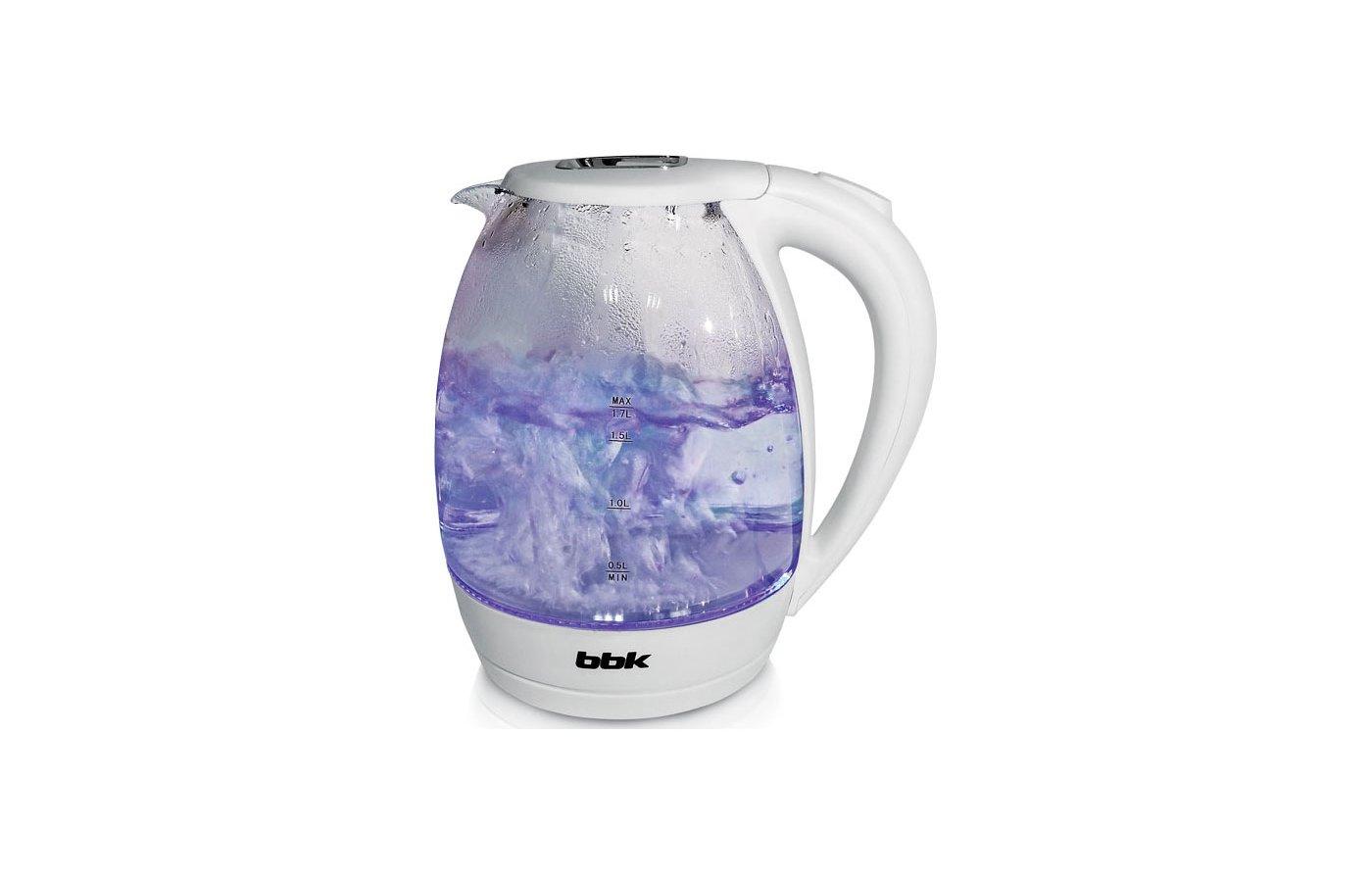 Чайник электрический  BBK EK1720G белый
