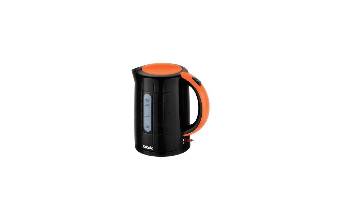 Чайник электрический  BBK EK1703P черн/оранж