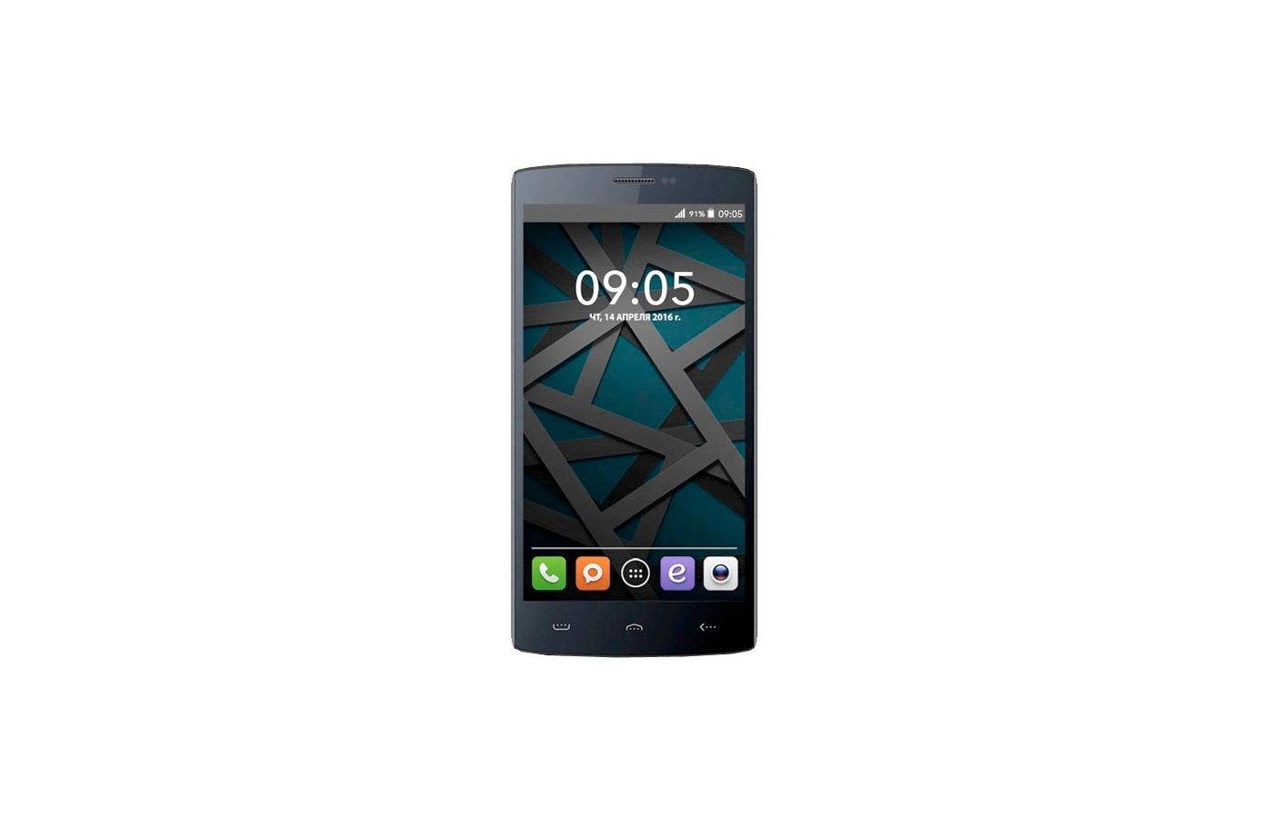 Смартфон BQ BQS-5502 Hammer Black