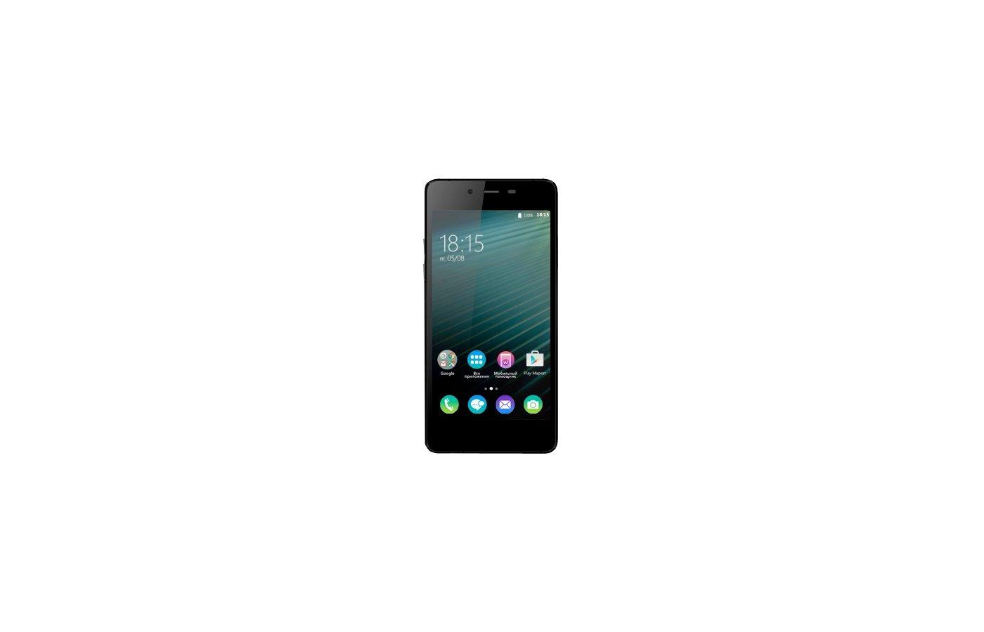 Смартфон BQ BQS-4800 Blade Black+Blue
