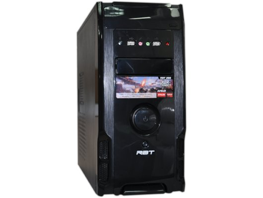 Системный блок РБТ R286 AMD 5350 X4 2.0Gh/4Gb/500Gb/HD8400D/DVDRW/Win7