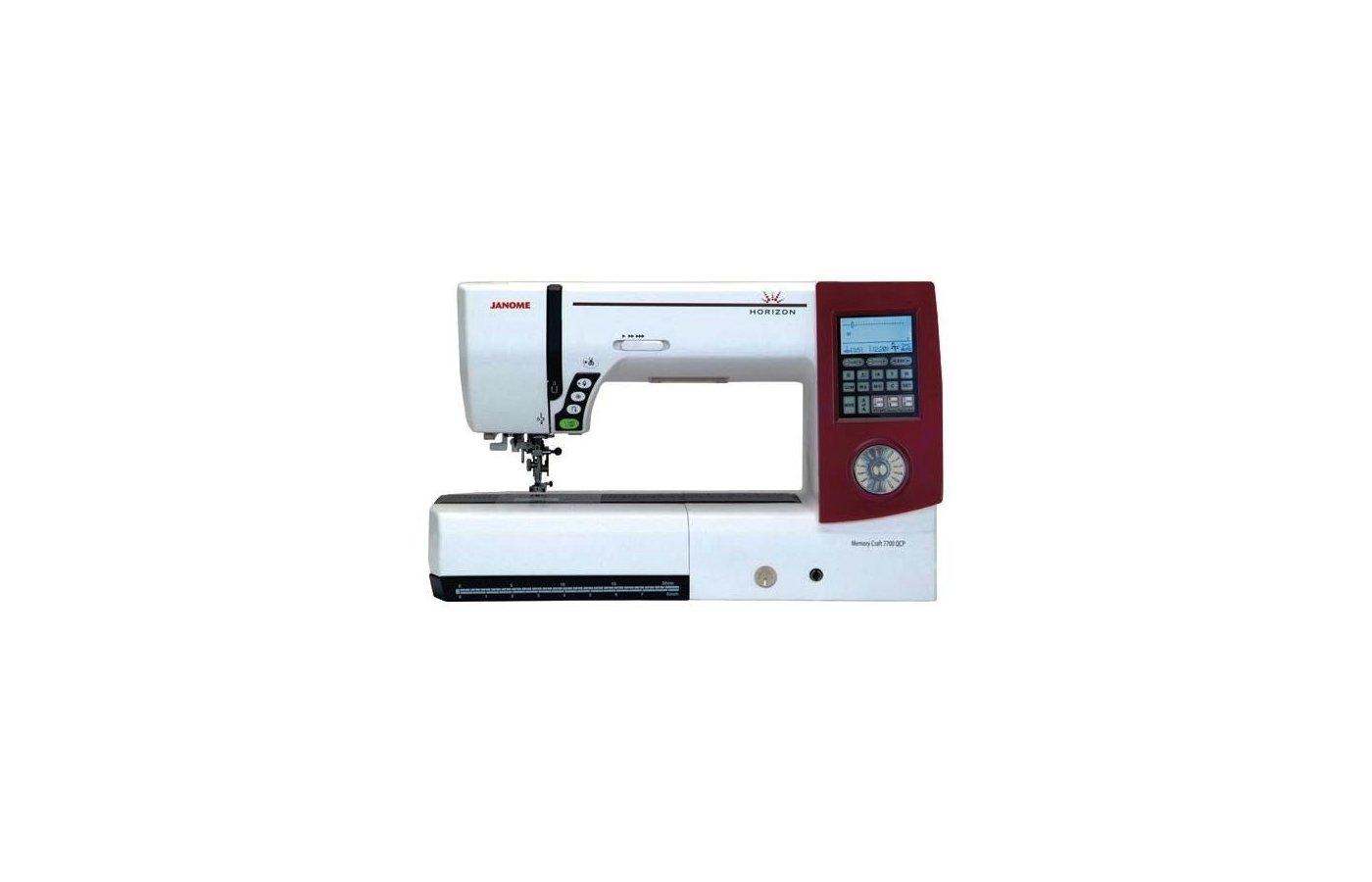 Швейная машина JANOME MC-7700 QCP