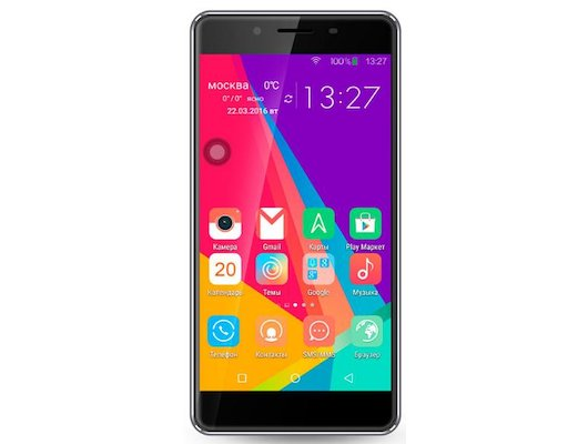 Смартфон Ginzzu S5040 Black