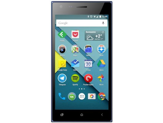 Смартфон Micromax Q413 Canvas Xpress 4G Blue