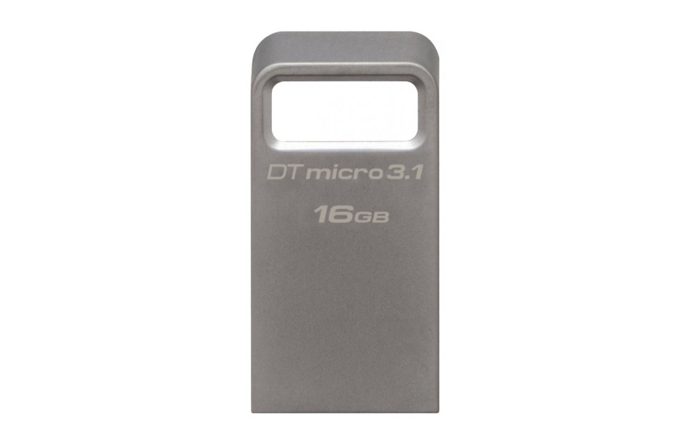 Флеш-диск Kingston 16Gb DataTraveler Micro 3.1 DTMC3/16GB USB3.1 серебристый